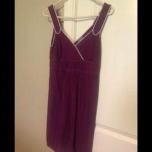 Ann Taylor plum sundress small